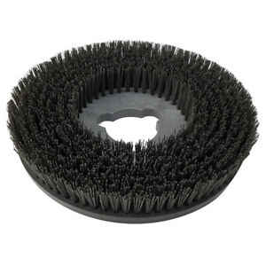 Floor polisher brush