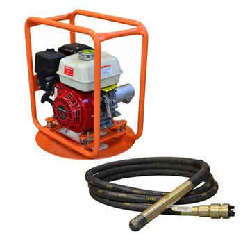 Vibrator shaft and vibrator motor